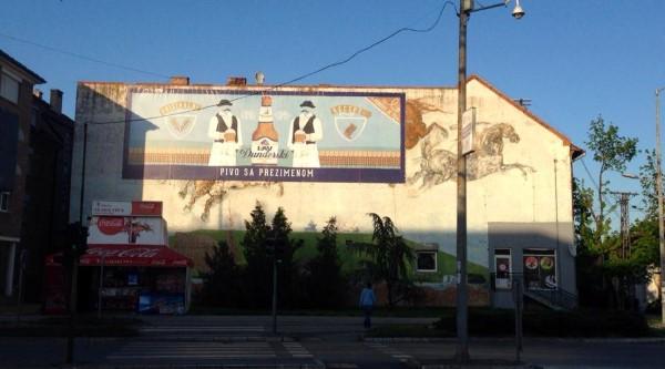 Lav pivo mural
