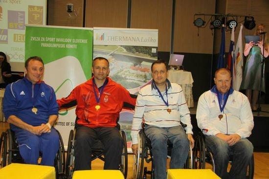 Goran Perlić na pobedničkom postolju