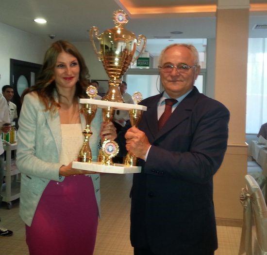 Najbolji strelac šampionata: Dijana Četić