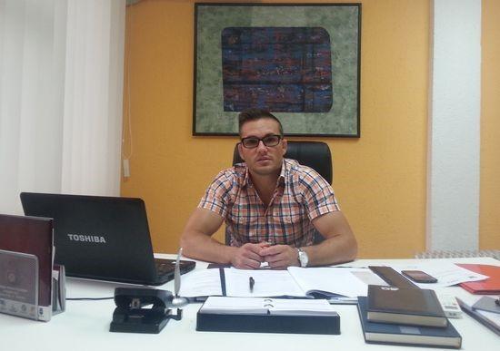 """Direktor JU """"Sportski objekti"""", Goran Fijat"""