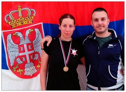 Zajedno do uspeha: Romana Caran i Raško Mićić
