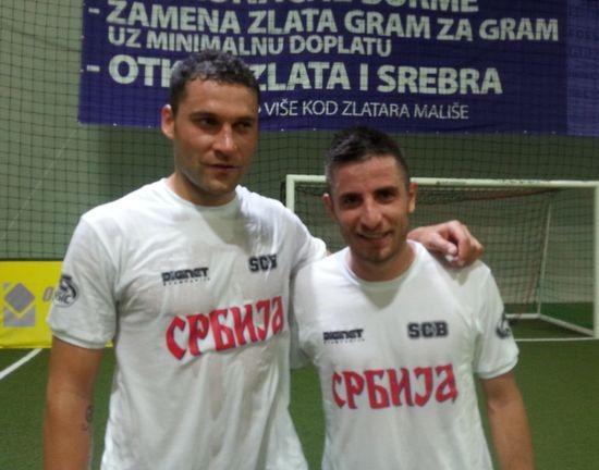 Zrenjaninci i reprezentativci Srbije: Duško i Zoran Tošić