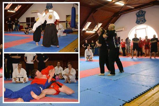 Aikido, sambo i urban jutsu