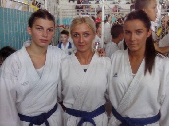 Seniorke Karate kluba Zrenjanin