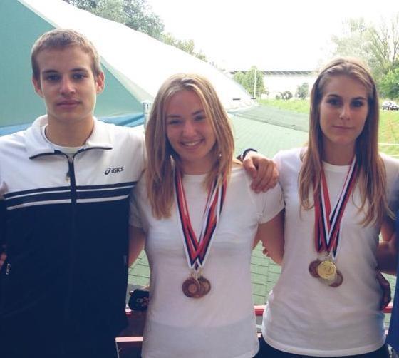 Iz Osijeka sa 4 medalje: Srđan i Ana Milinković, Svetlana Ristin