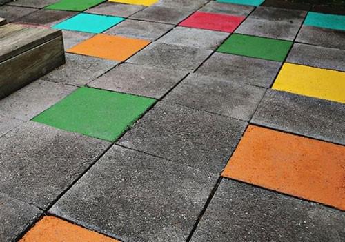 Kako ulepšati sive betonske površine u 4 koraka