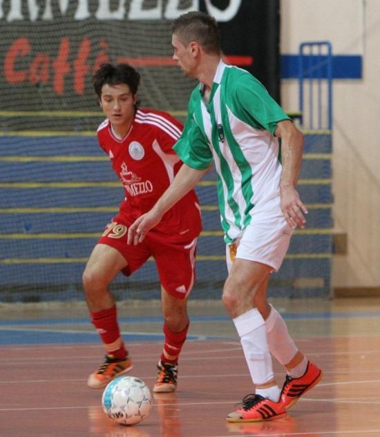 Het - trik u Bečeju: Aleksandar Tomin (levo)