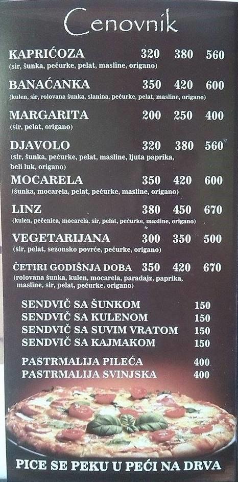 Linz cenovnik