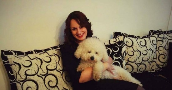 Obožava životinje: Višnja sa psom Aronom