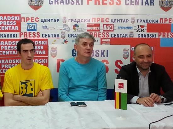 Uroš Gordić, Dmitar Majstorović i Dragoljub Bjeloglav