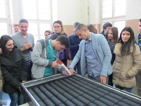 Solarni kolektor od limenki 2