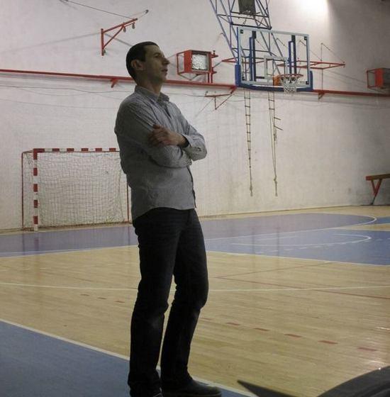 Zoran Bajin, trener KK Proleter