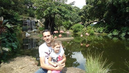 I porodici prija Kolumbija: Vladimir Ćuić sa ćerkicom
