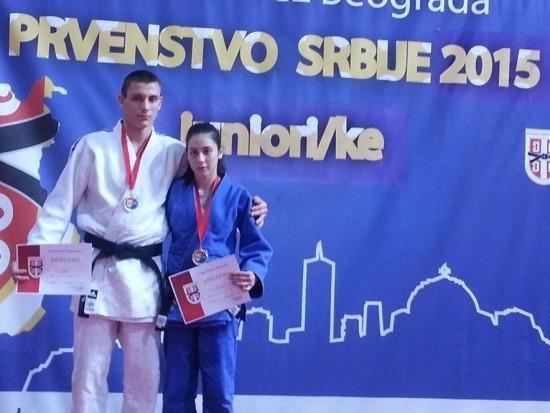 Dusan Saric i Anita Sakal juniorsko 2015