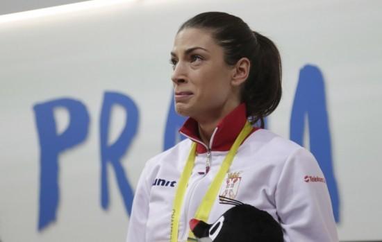 Na pobedničkom postolju: Suze Ivane Španović