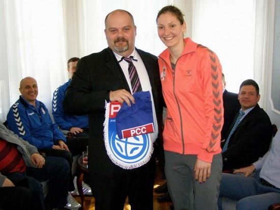 Čedomir Janjić i Jelena Živković