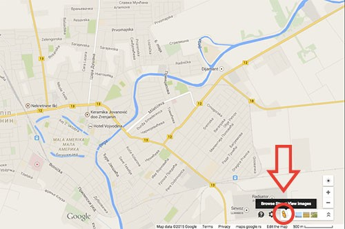 mapa zrenjanin Zrenjanin na Google Street View