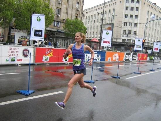 Biljana Vlacic Bg maratom