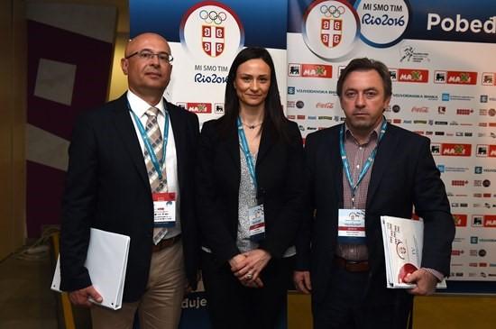 Novi članovi IO OKS: Jevremović, Popović i Trajković