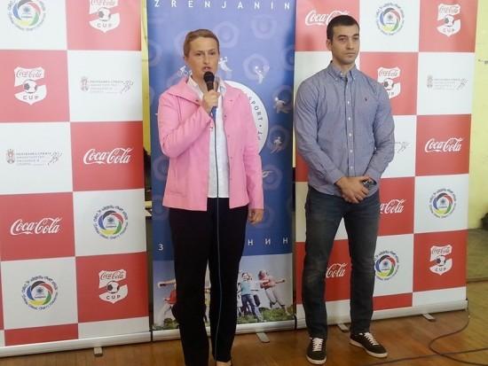 Detalj sa otvaranja: Zlatana Ankić i Jovan Lekić