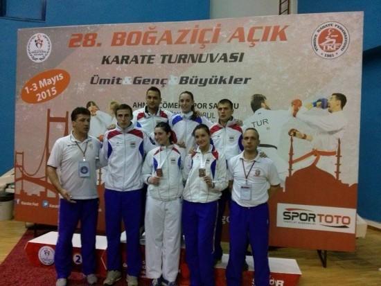 Karate reprezentacija Srbije na Bosfor Kupu