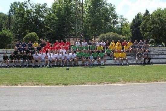Na turniru je učestvovalo 9 ekipa