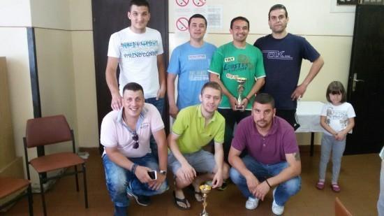 Zajednička slika pobednika u konkurenciji seniora i veterana