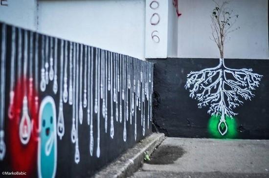grafit-bagljas