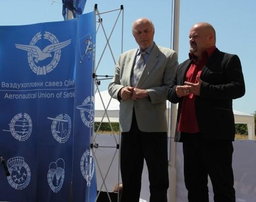 Labud Bulatović i Čedomir Janjić