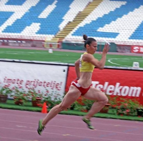 Katarina Sirmic u trku