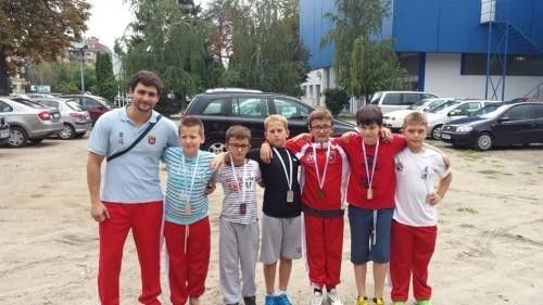 Trener Tomislav Kohajm sa talentovanim džudistima
