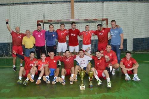 Osvojili turnir u Crvenki: Rukometaši Proletera sa zlatnim peharom