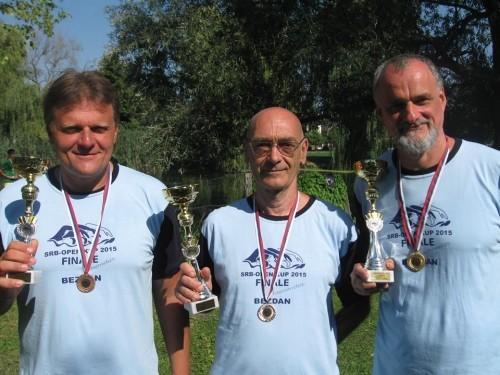 Uspešna sezona u daljinskom plivanju: Anđelić, Stefanović i Milojević
