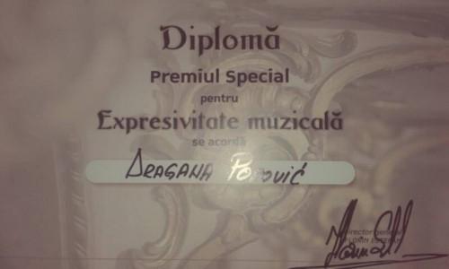 Dragana Popovic diploma