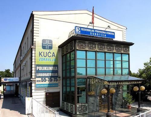 Kuća zdravlja Subotica.