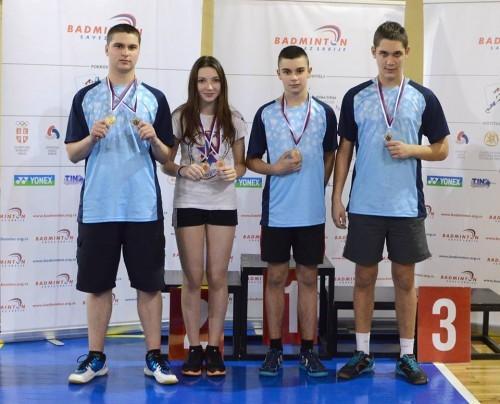 Marko Bubalo, Danica Stanisavljev. Aleksa Stanisavljev i Nemanja Ubavić