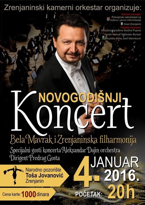 Novogodisnji koncert 2015 plakata