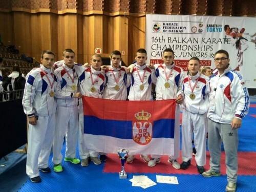 Đorđe Salapura je osvojio zlato sa reprezentacijom Srbije