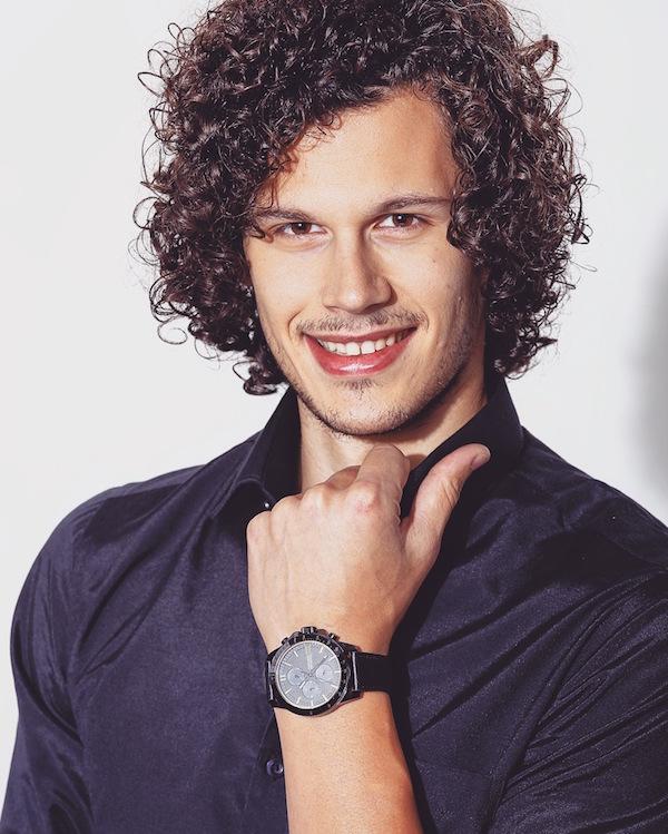 Filip Acic model man casual look 00010