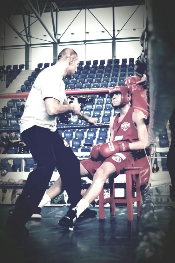 Trener Piperski sa svojim pulenom