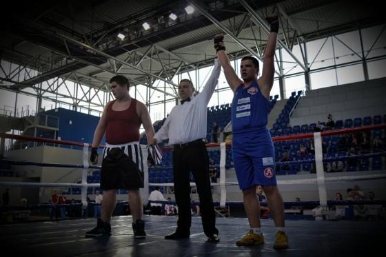 Šampion u teškoj kategoriji: Aleksandru Sekošan (BK Petrovgrad)