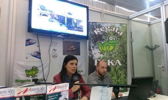 Prezentacija Vesne Bugarin na 38. Sajmu nautike, lova i ribolova