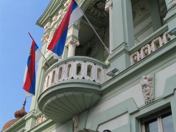 U vremenu sadašnjem - balkon Gradske kuće