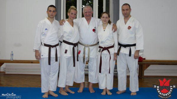 Nova generacija majstora sa trenerom Nikolom Vukelicem i prof.dr Vladimirom Jorgom