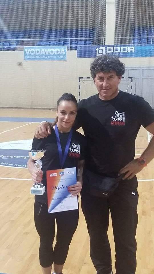Aleksandra Aranitović sa Miodragom Gligićem
