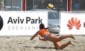 odbojka na pesku -