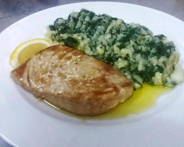 tuna stek