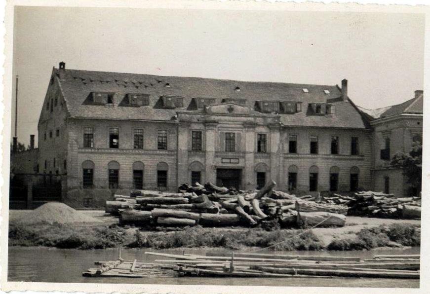 Objekat nekad (Foto: Zavod za zaštitu spomenika kulture Zrenjanin)