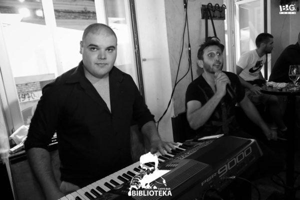 Subota: Boris Petrović i Contact band
