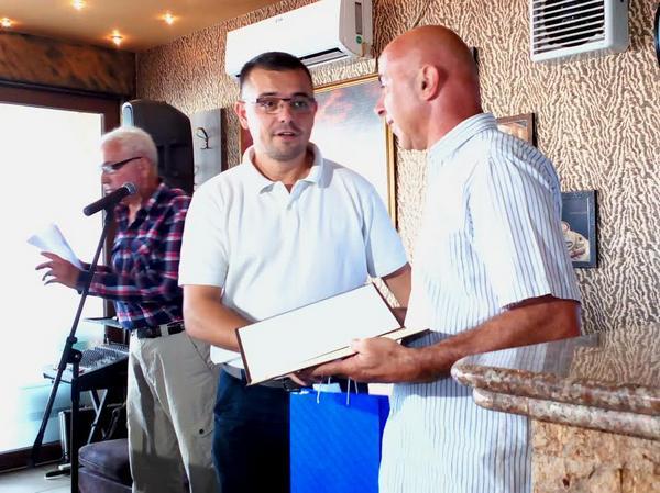 Uručenje nagrade Miodragu Grubačkom u Bogatiću